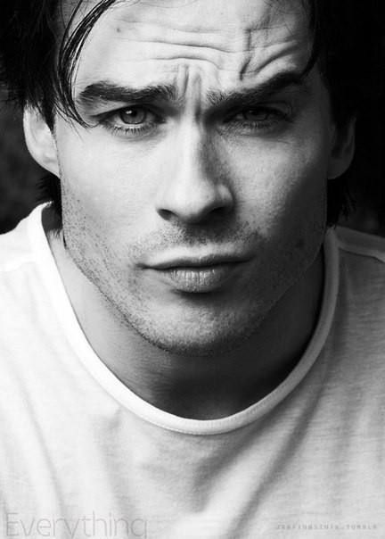 Ian Somerhalder. Perfection. Pure perfection.