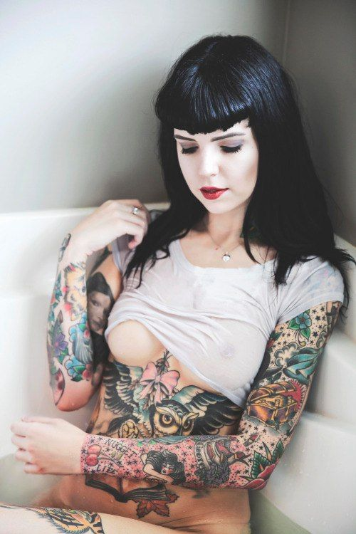 This brilliant Suicide girls tattoos body consider, that