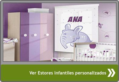 Estores infantiles personalizados beb s ni os y su - Estores para ninos ...