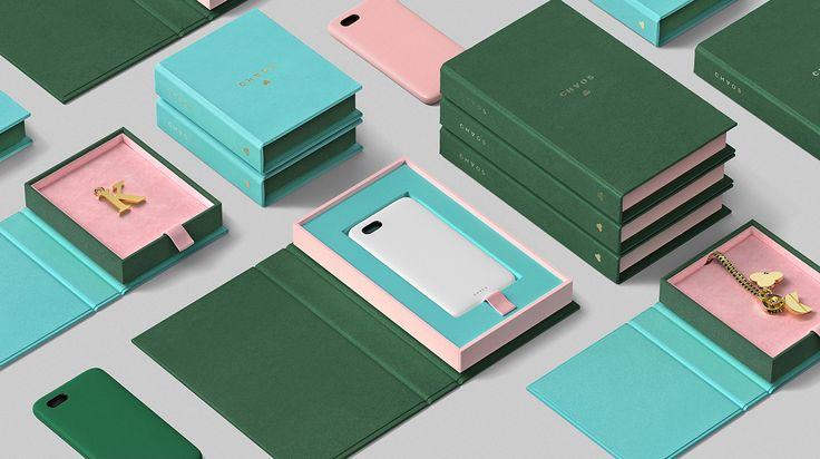 Packaging design featuring Colorplan papers and boards by Socio Design for luxury lifestyle accessory brand Chaos