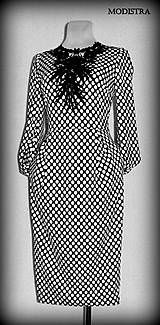 Šaty - Retro šaty - 8088614_