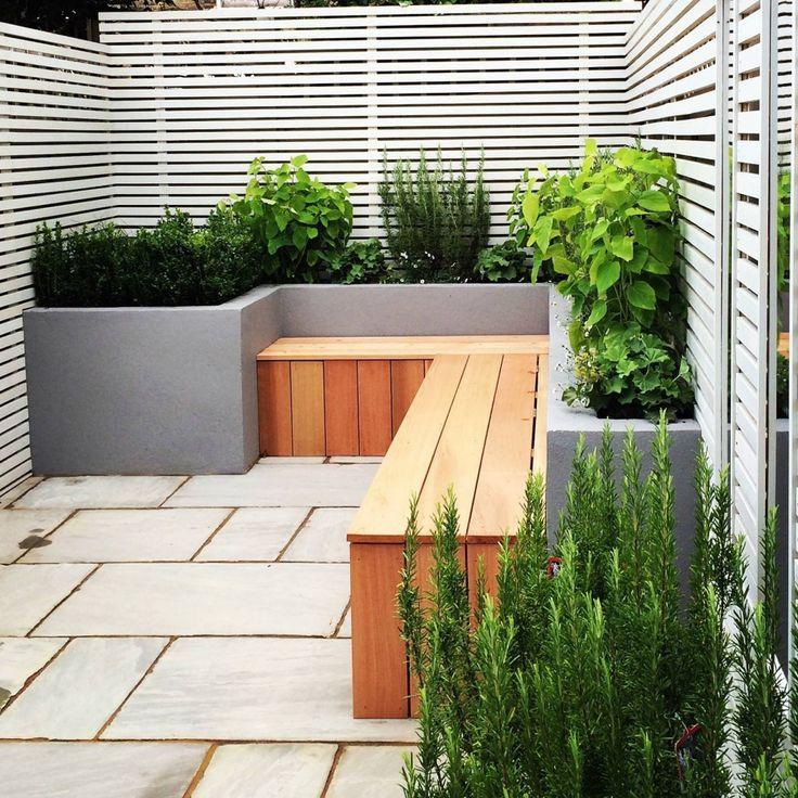 Jardins charmosos para espaços pequenos #hogarhabitissimo