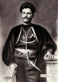 Captain Gonos {Georgios Gonos Yiotas} from Giannitsa , Macedonia, Greece, passed into immortality age 31 fighting for the #liberation and #freedom of #Macedonia from foreign occupation