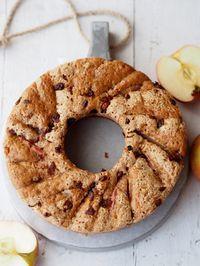 torta di mele: farina integrale e avena