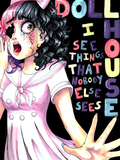 'Dollhouse~Melanie Martinez' This isn't really a popular song but it's great. Listen to it! I LOVE THIS SONG!!