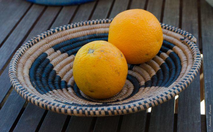 African Straw Bowl - Basket - Über den Traum