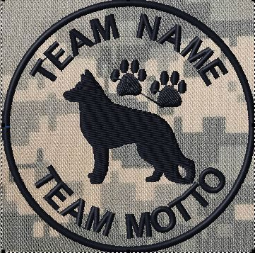 OML Patches - Team Patch K9 Police Unit, $12.99 (http://www.omlpatches.com/team-patch-k9-police-unit/)