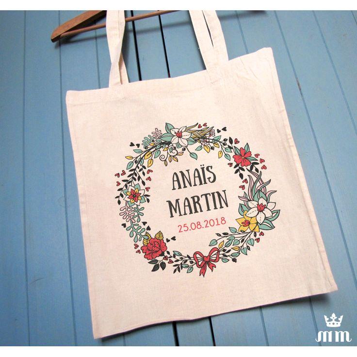 Préférence 51 best - Tote bag mariage & EVJF - images on Pinterest | Shop  KT93