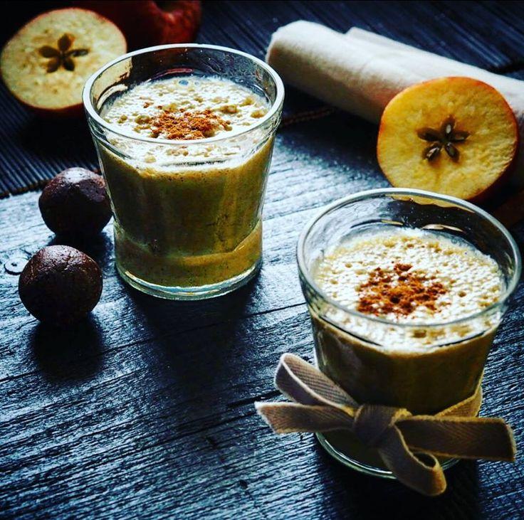 Jablečno skořicové smoothie - Detox chutně
