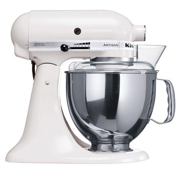 kitchen aid kitchenaid artisan kchenmaschine 48 l wei - Kitchenaid Kuchenmaschine Artisan Weis 5ksm150psewh
