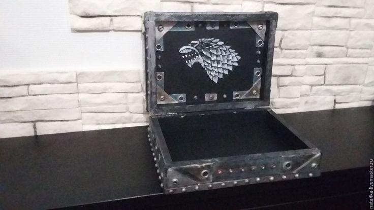 Купить Шкатулка Game fo Thrones - серебряный, game of thrones, шкатулка