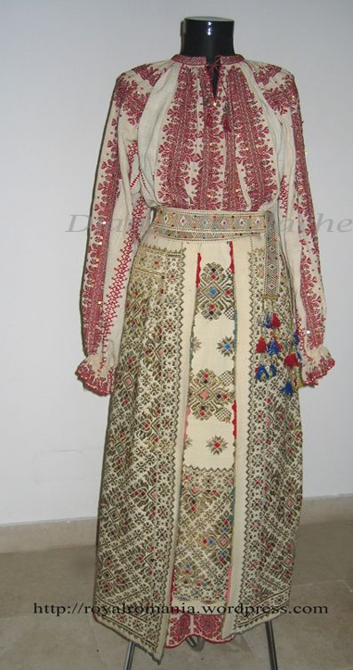 Traditional Romanian Costume