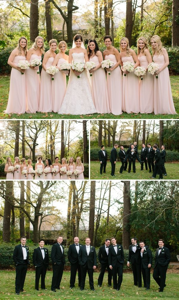 Blush bridesmaid dresses and groomsmen ... Wedding ideas for brides & bridesmaids, grooms & groomsmen, parents & planners ... https://itunes.apple.com/us/app/the-gold-wedding-planner/id498112599?ls=1=8 … plus how to organise an entire wedding, without overspending ♥ The Gold Wedding Planner iPhone App ♥
