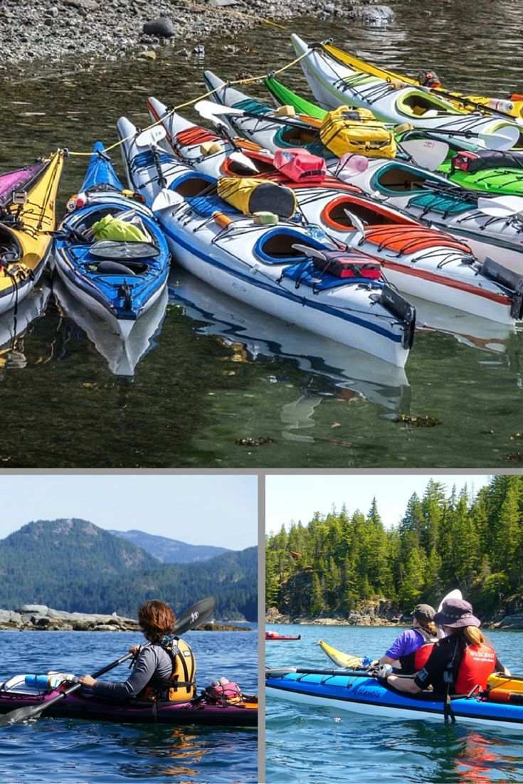 Explore the BC Discovery Islands on a Sea Kayaking Vacation