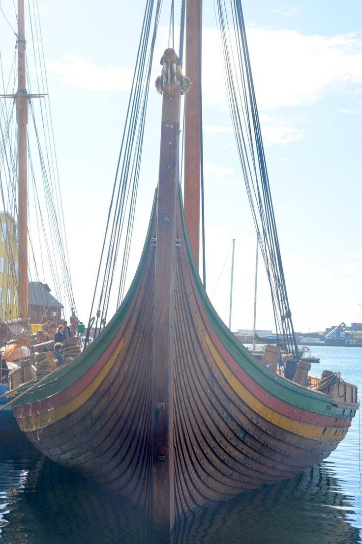 Viking ship, Draken Harald Hårfagre                                                                                                                                                      More