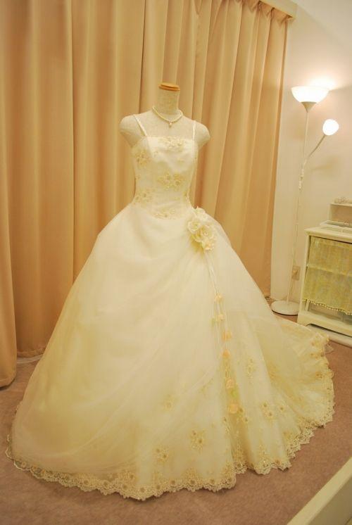 ウェディングドレス HJA-3415F|ウェディングドレスのレンタルなら大阪ピノエローザへ