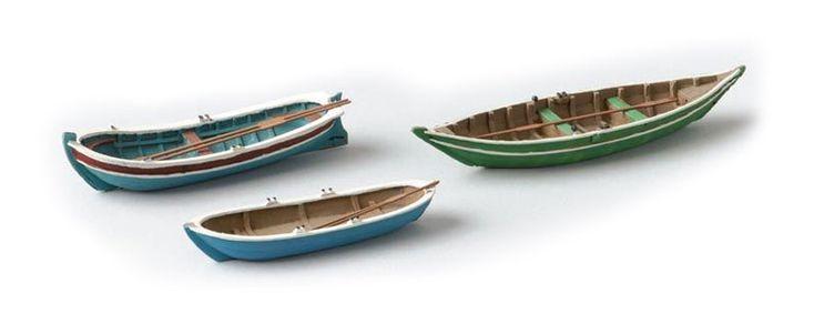 modellbahnshop-lippe.com Artitec 387.08 Rowing boats