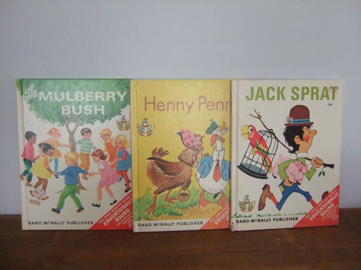 Start-Right Elf Book Set: Jack Sprat, Henny Penny, The Mulberry Bush Full Size by jessamyjay on Etsy
