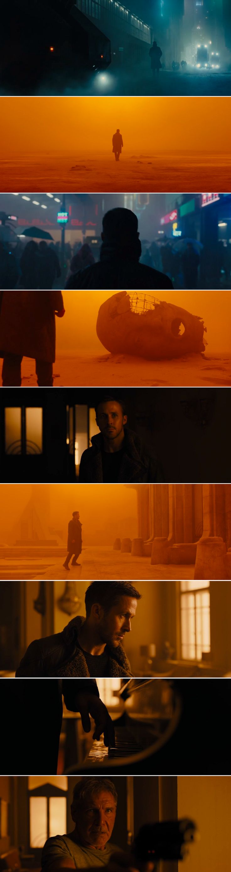 """I had your job once. I was good at it."" -Blade Runner 2049, directed by Denis Villeneuve; 2017"