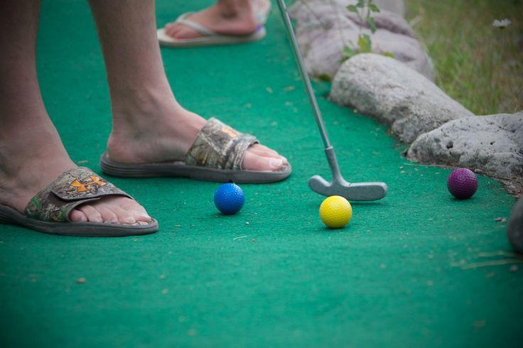 Mini golf #FairmontHotSpringsResort #minigolf #fun #activities #basecamp #BCRockiesAdventures #family