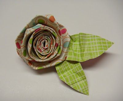 The Crafty Blog Stalker: How To Make 20 Different Paper Flowers