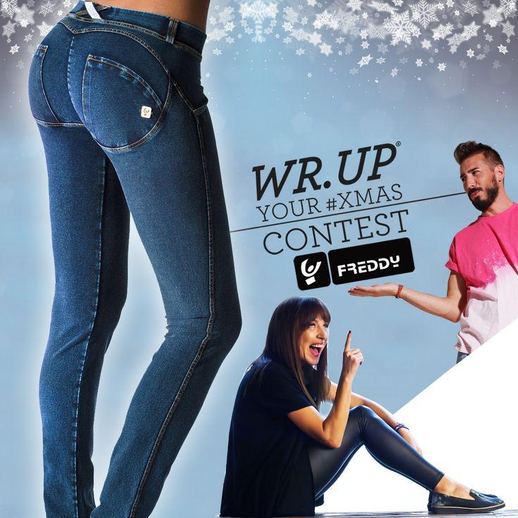 """Μόλις έλαβα μέρος στο διαγωνισμό """"WR.UP® Your #Xmas"""" από τη FREDDY! Πάρε κι εσύ μέρος στο μεγάλο χριστουγεννιάτικο διαγωνισμό της FREDDY και μπες στην κλήρωση για να ζήσεις μια μοναδική fashion εμπειρία: Αξέχαστο #WRUPShopping στο FREDDY Store(Golden Hall), με το πιο famous στιλιστικό δίδυμο της Ελληνικής τηλεόρασης, D-fine, στο πλευρό σου!"""