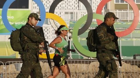 Rio Olympics 2016: Team GB athlete 'robbed' at Games after night out - BBC Sport