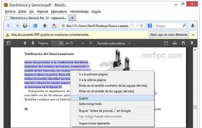 DescargasPTY: Trucos para extraer el texto y las imágenes de un PDF protegido.  Trucos para extraer el texto y las imágenes de un PDF protegido