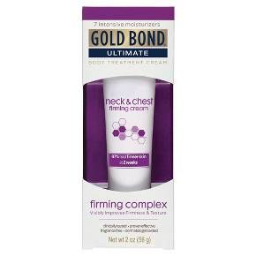 Gold Bond Ultimate Neck & Chest Firming Cream - 2 oz. : Target