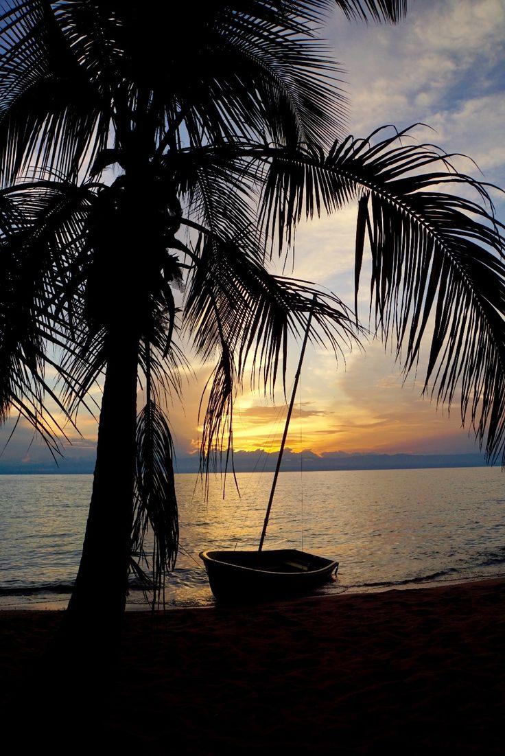 Gorgeous view at Lake Tanganyika, Tanzania.