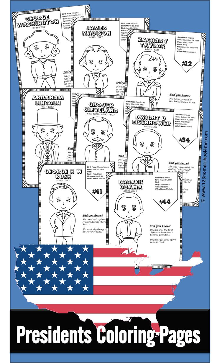 70 best presidents day images on Pinterest | Dover publications, 1st ...