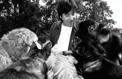 My hero ♡ Professor Francione with five of his seven rescued pound puppies | Animal Rights: The Abolitionist Approach (click link to learn more)