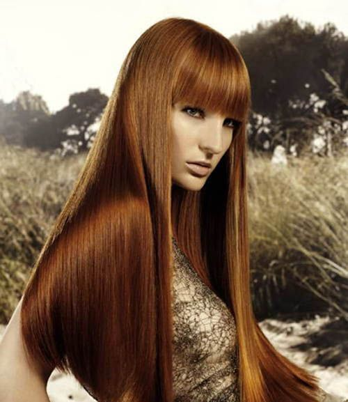 Hairstyles with chestnut highlights