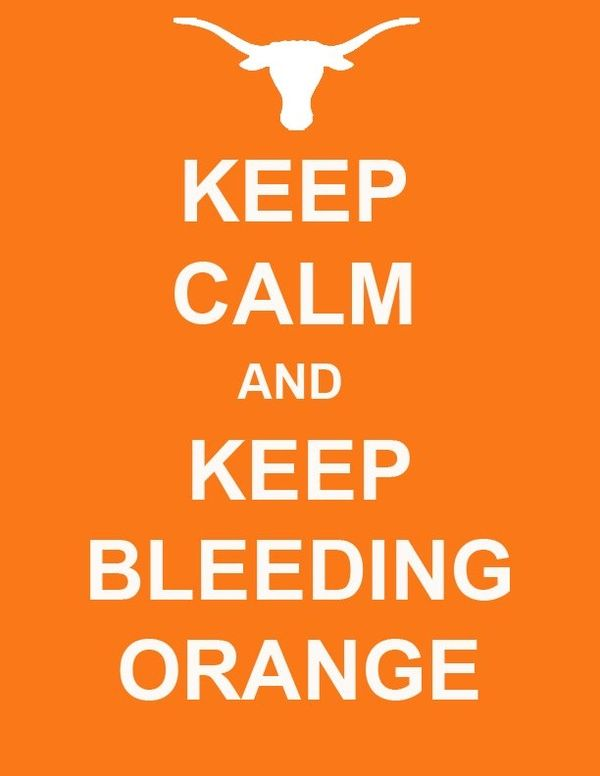 I bleed ORANGE!!! Cheering up for both Syracuse (my Alma Mater) and University of Texas,Austin (my dream school for MBA) in an orange t-shirt :)