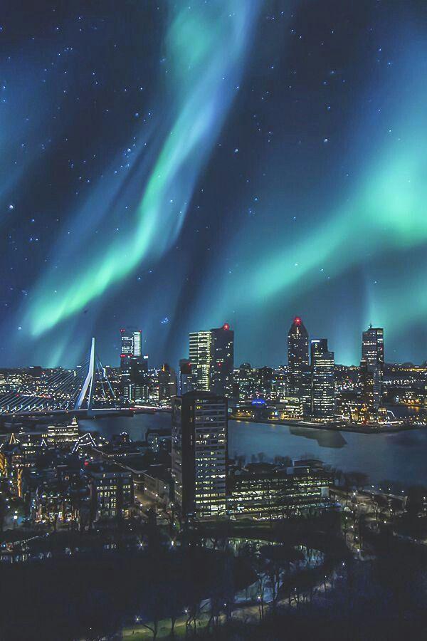 Auroras boreales en Rotterdam!