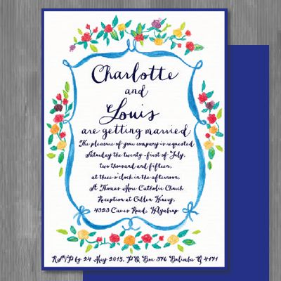 15 best wedding invitations by couture card company images on rustic and sweet this french inspired wedding invitation design by the couture card company stopboris Images