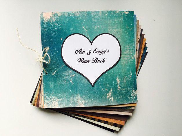 Das Wenn Buch ist das perfekte Geschenk zur Hochzeit von Freunden oder für deine Liebsten zum Hochzeitstag! Das Wenn Buch bietet hilfreiche und weniger nützliche (aber dafür witzige!) Geschenke...