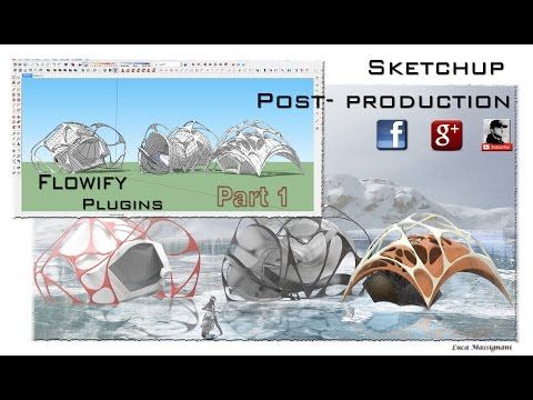 Flowify plugin Sketchup Part 1 - YouTube