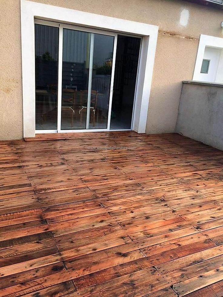The floor is an important part of the home, which give it a look; so it should be chosen with care and with this idea you can create it with hands at home. The pallets need to be arranged for this idea and they are to be joined together in a simple way for getting this look.