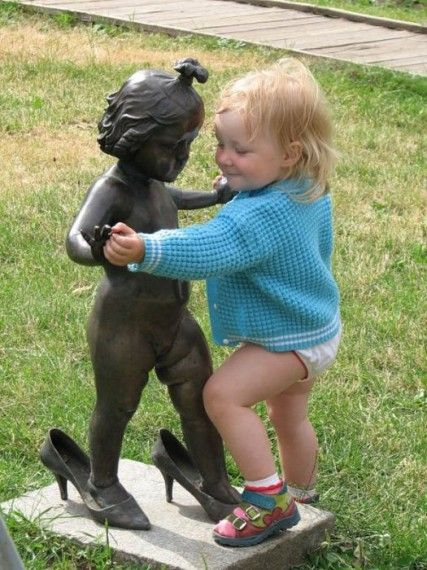 Fun with statues - Mommy Has A Potty Mouth - some of these are definitely NSFW