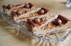 Toffifee - Käsekuchen, ca 100 ml Milch in die Quarkmasse und besser sind 2 Päckchen Vanillepuddingpulver anstelle vom Grieß, der im Rezept angegeben ist,