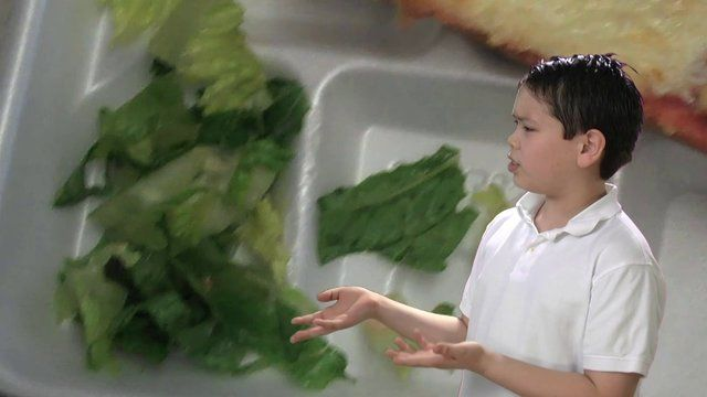 """Clips from """"Yuck"""" - Battle of the Salads by Maxwell Project. A clip from the short film """"Yuck: A 4th Grader's Short Documentary About School Lunch"""""""