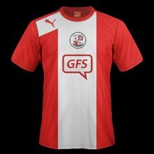 Crawley Town home shirt for 2012-13.