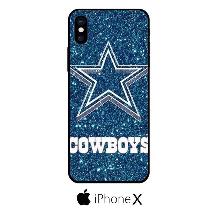 Dallas Cowboys Glitter IPHONE X