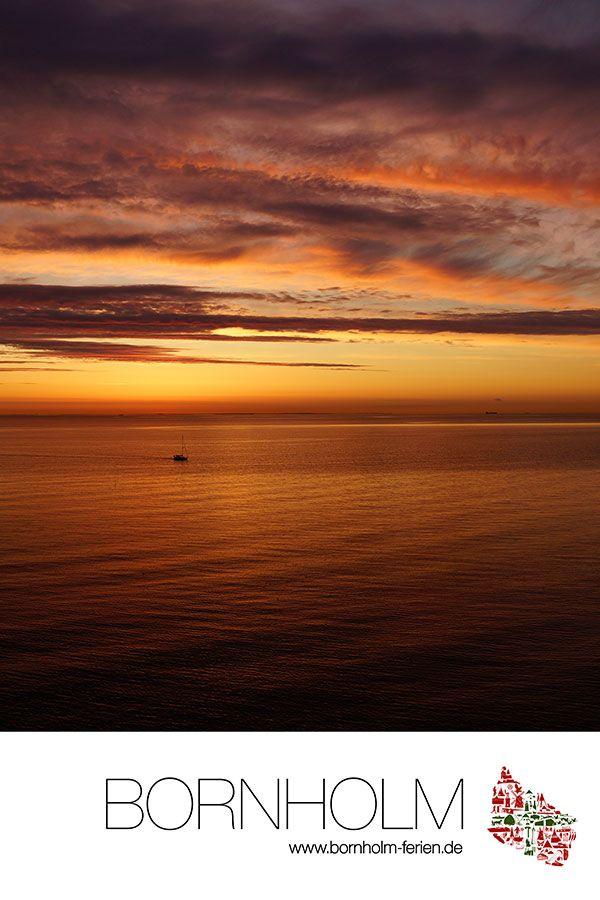 "Bornholm Poster Nr.6 ""Sonnenuntergang"" von Bornholm-Ferien.de #poster #bornholm #sonnenuntergang #sunset"
