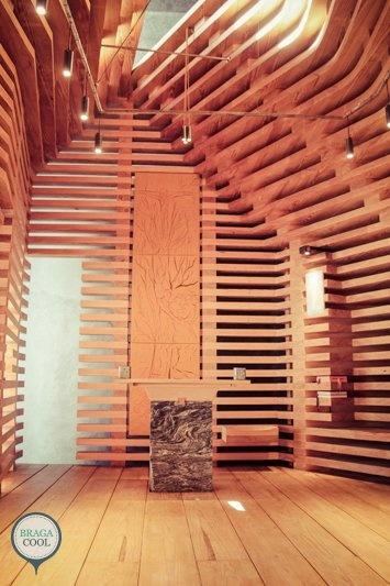 Arquitetura num Braga Cool Affair - Capela Árvore da Vida