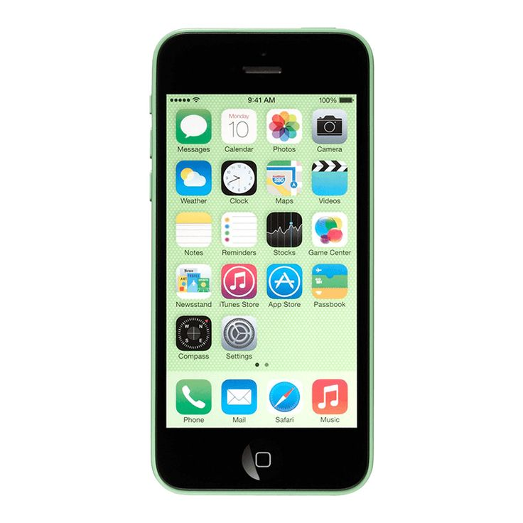 Refurbished Apple iPhone 5C AT&T Green 16GB (ME508LL/A) (A1532)