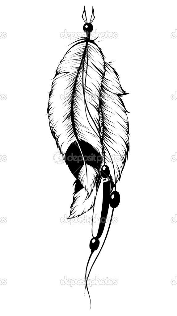indian feather Tattoos For Girls | Tattoo Loogged Indian Feather Tattoos