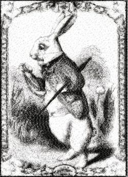 """Skits Singles """"Rabbit Strolling"""" Single! Is a wonderful addition to your design stash for year round use, since while it's not Easter themed, this vintage rabbit does lend himself well to the Easter holiday!"""