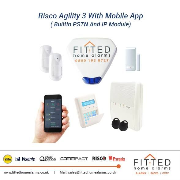 Risco Agility 3 Burglar Alarm With Mobile App ( BuiltIn PSTN And IP Module) Phone: 0800 193 8727, 020 3137 8727  Mail: sales@fittedhomealarms.co.uk Agility™ 3 is a state of the art 2-way wireless alarm system designed for the residential and small business markets that provides more than a standard home security system. Visit our website for more information: http://www.fittedhomealarms.co.uk/